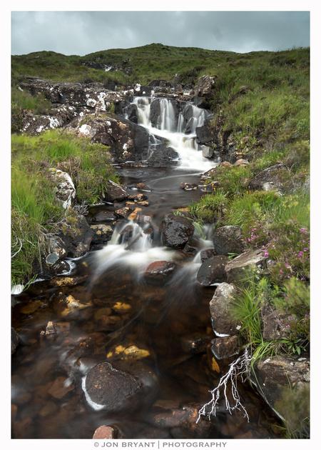 Small brook next to Sligachan